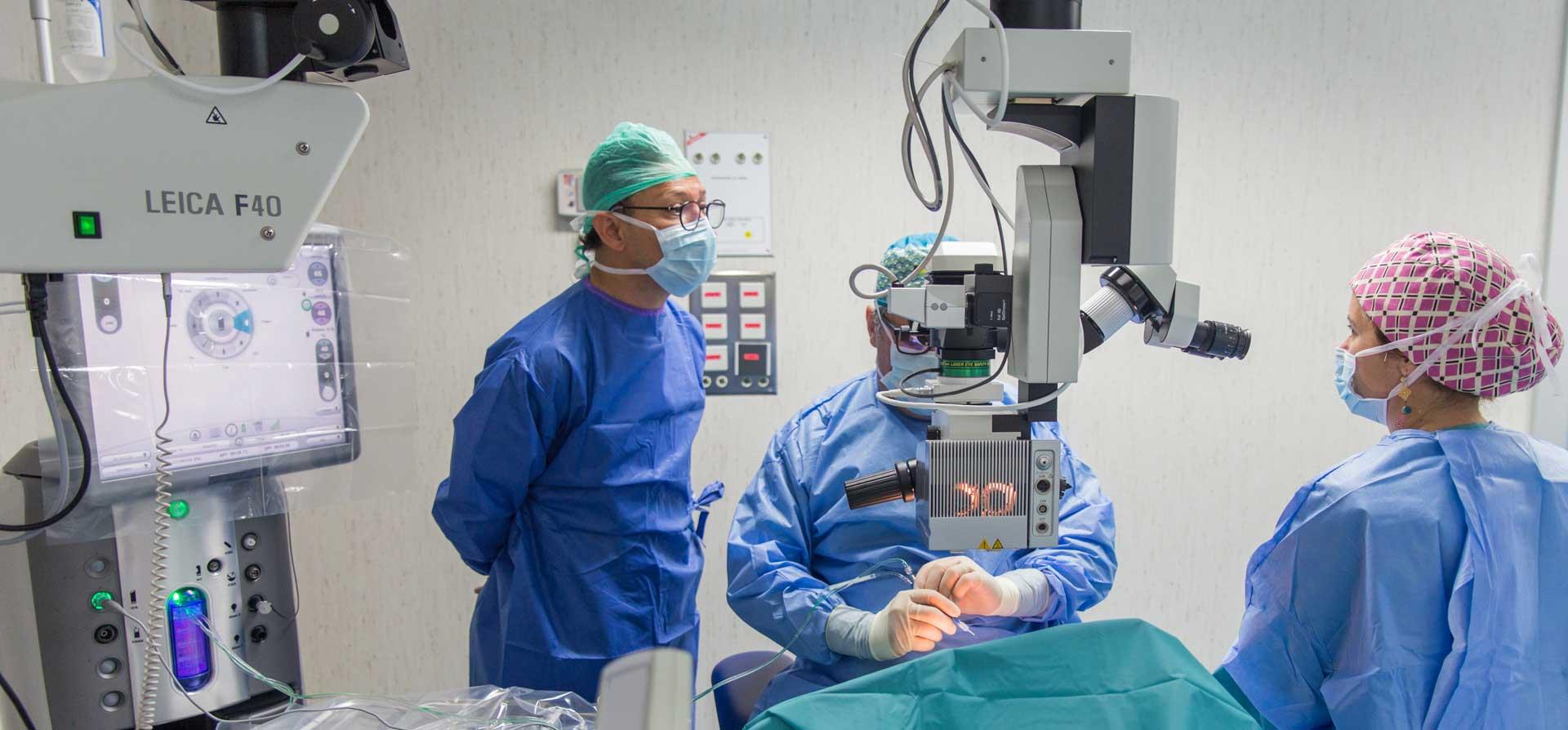 clinica oftalmologica tetuan)